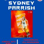 Sydney Parrish McDonald's All-American Open House