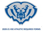 2020-21 HSE Athletic Required Forms