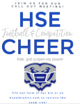 HSE Football/Competition Cheerleading Call Out Meeting!