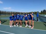 #5 HSE Girls Varsity Tennis defeats #16 Zionsville 4-1