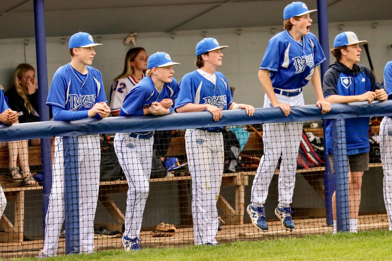 JV Royal Baseball vs. Fishers 4-28-21