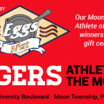 Congratulations to October's athletes of the month, Mia Cochran and Darek Panucci! Sponsored by Eggs N'at.