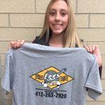 Mia Cochran sets school record!