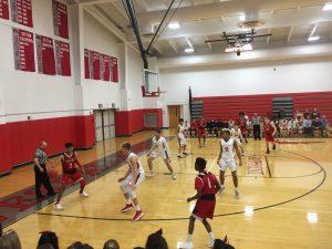 Boys varsity basketball at WA 12/14
