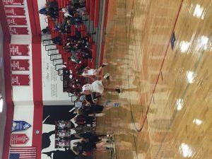Girls varsity basketball 12/18 vs. Lincoln Park