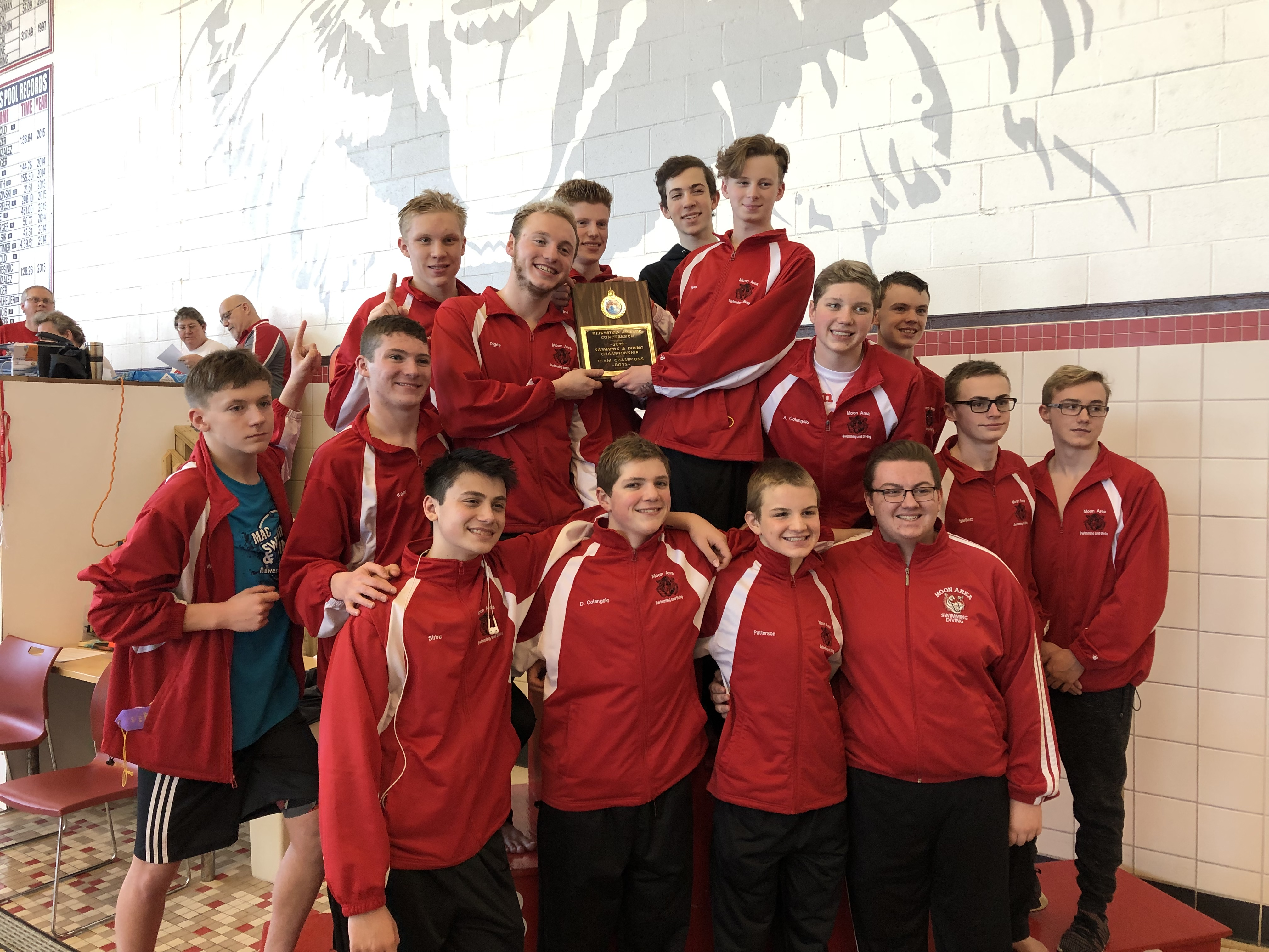 Moon Area Swimming and Diving Team featured on TribLive!