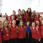 Girls swim and dive wins 2nd consecutive MAC Conference Meet in dominating fashion