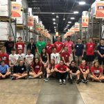 MAHS Cross Country volunteers at World Vision