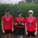 Girls Varsity Golf finishes in 2nd place at MAC Tournament