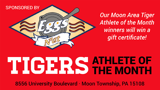 Congratulations to November's Athletes of the Month!  Sponsored by Eggs N'at