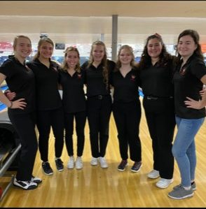 Girls Bowling Team Wins MAC Championship!