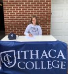 Meghan Bell signs Gymnastics LOI with Ithaca