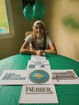 Natalie Baumgarten signs Lacrosse LOI with Webber International