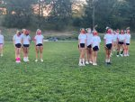 Welcome Back from our MS Cheerleaders!