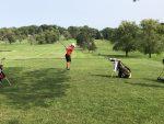 Boys Varsity Golf 9-0 beats New Castle 204 – 241