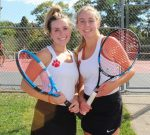 Amanda Koren and Maria Lounder Take 2nd Place at Section Doubles