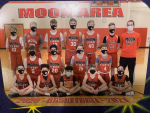 7th grade boys basketball team completes undefeated season!