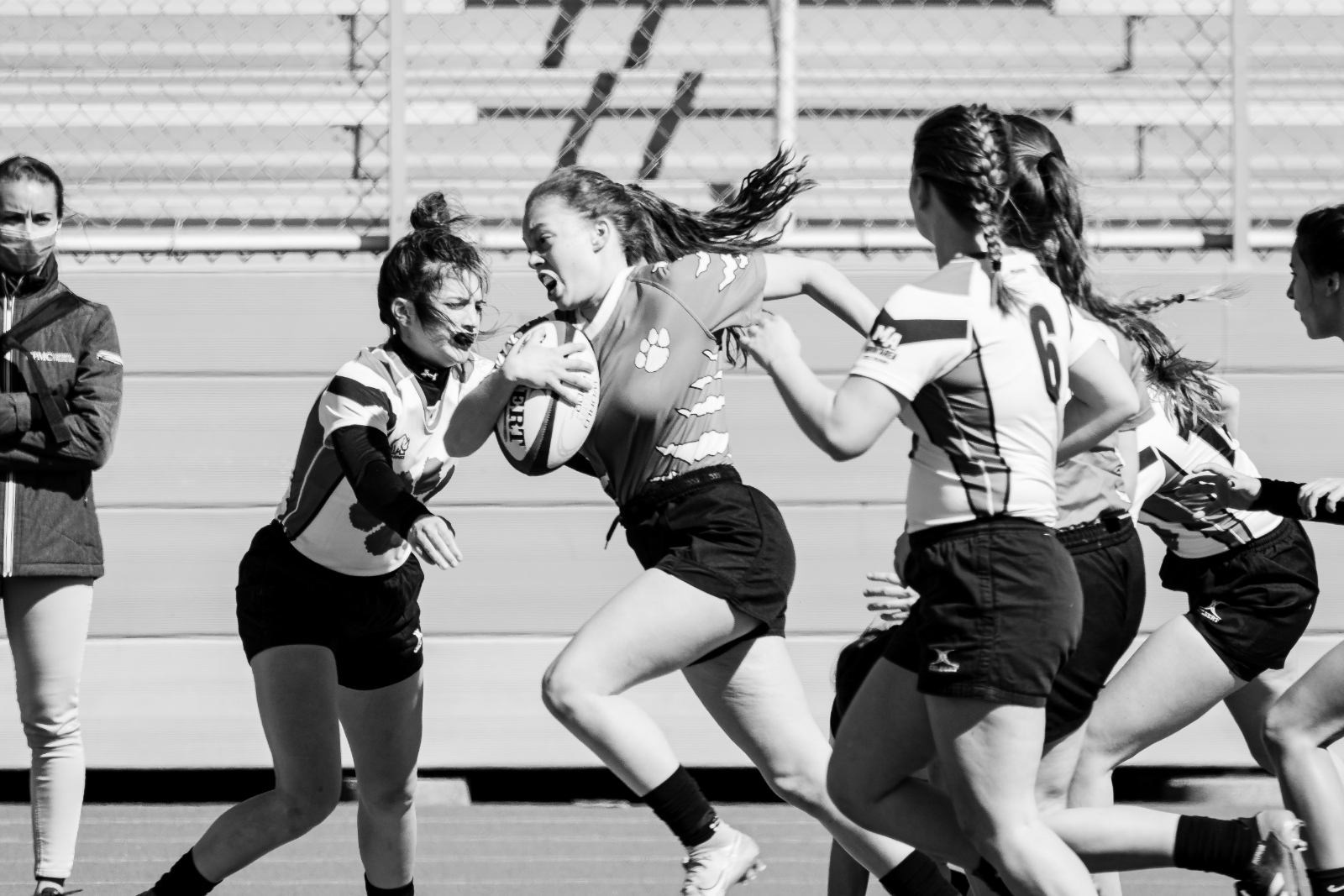 Moon Area Girls Rugby Scrimmage
