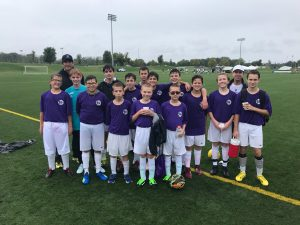 Boys Junior High Soccer