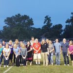 Faculty/Staff Recognized at Football Game