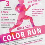 1st Annual Color Run to Be Held During Spirit Week