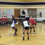 Twin Valley South Defeats Dayton Christian Varsity Volleyball in Three Sets