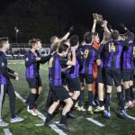 Boys Soccer Claims Back-to-Back District Titles