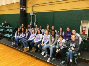 Girls Junior High Volleyball