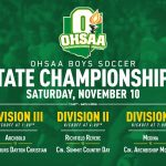 Boys Soccer State Championship Information