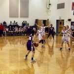 The Girls Varsity Basketball team falls to Miami Valley School 33 – 21