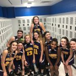 Girls Middle School Basketball Beats Middletown for their 12th straight victory!