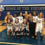 The Lady Warriors Basketball Team were all smiles as they defeated East Dayton Christian