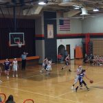 Girls Varsity Basketball falls to National Trail 44 – 33