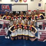 Competition Cheerleaders Win CCA Hoosier Classic Competition