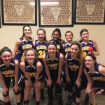 Middle school Lady Warriors buck the Broncos
