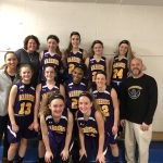 Middle school girls victorious in regular season finale vs. YS Bulldogs