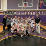 Junior High girls capture the Metro Buckeye Conference Title with a win over the Broncos
