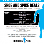 Track and Field 'Shoe & Spike Deals'