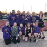 Girls Middle School Track Team Wins CHCA Invitational