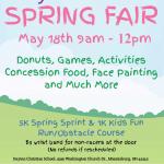 Spring Fair set for Saturday, May 18 at Dayton Christian School