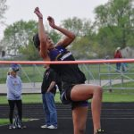 Taylor Ullrich School Record Highlights Day 1 of T&F District Championships