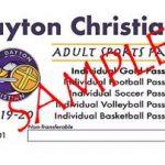 2019-2020 Adult Athletic Season Passes on Sale