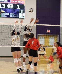 1st Volleyball Game in Warrior Center: 8/17/2019
