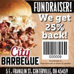 Volleyball Program Fundraiser at Centerville City BBQ, Sept. 18
