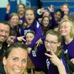 Girls Middle School Volleyball beats Yellow Springs 2 – 1