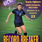 Ogburn Sets New School Record in Season Assists