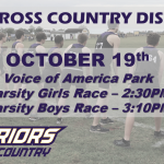 It's Race-Day for the Warriors: OHSAA District Cross Country Championships