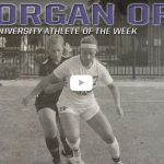 DCS Alumni: Morgan Orme, Receives Athlete of the Week Honors at Taylor University