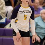 New Volleyball School Record Set by Thompson