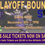 Football Playoff Game vs. Southeastern (Chillicothe); Pre-Sale Tickets on Sale